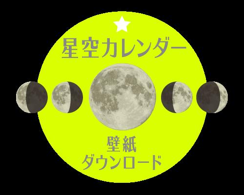 月齢星空カレンダー